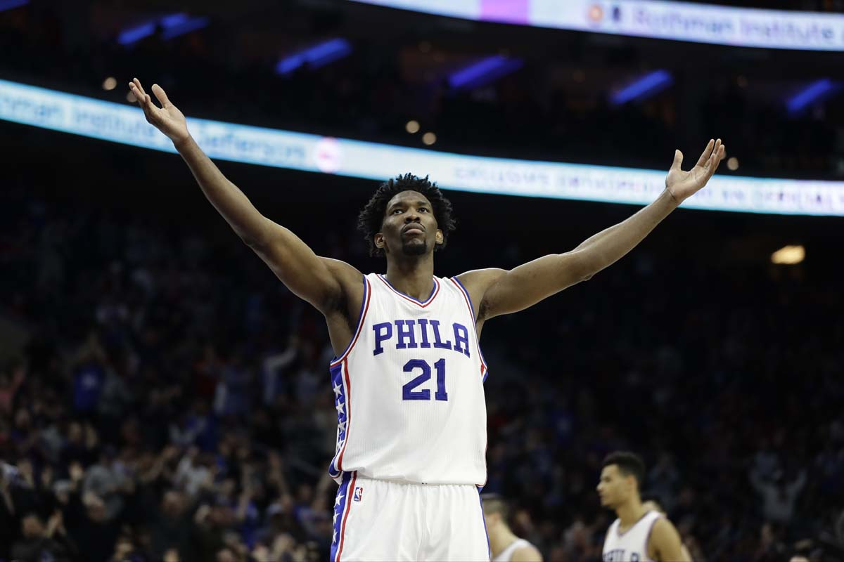 Joel Embiid and Dario Saric named to NBA All-Rookie First Team