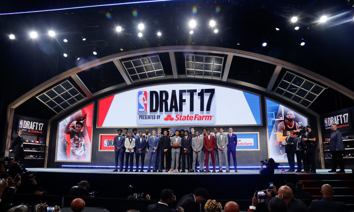 Markelle Fultz goes No. 1 to 76ers