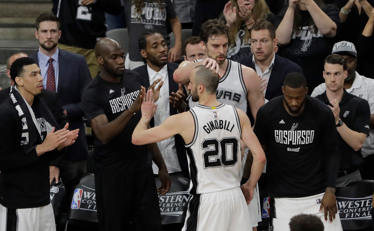 Manu Ginobili returning to San Antonio Spurs