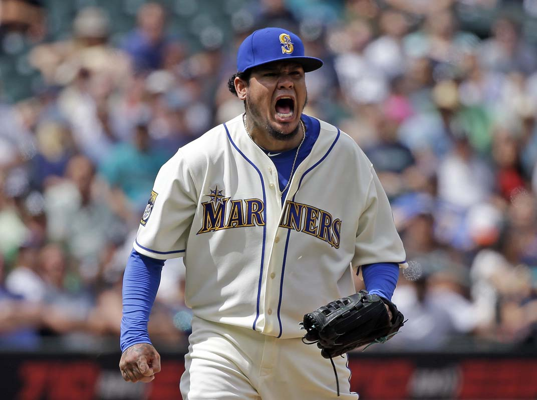 Mariners put Felix Hernandez on DL, recall Gonzalez