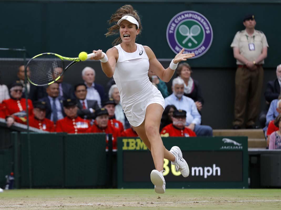 Unseeded Magdalena Rybarikova makes first Wimbledon semis