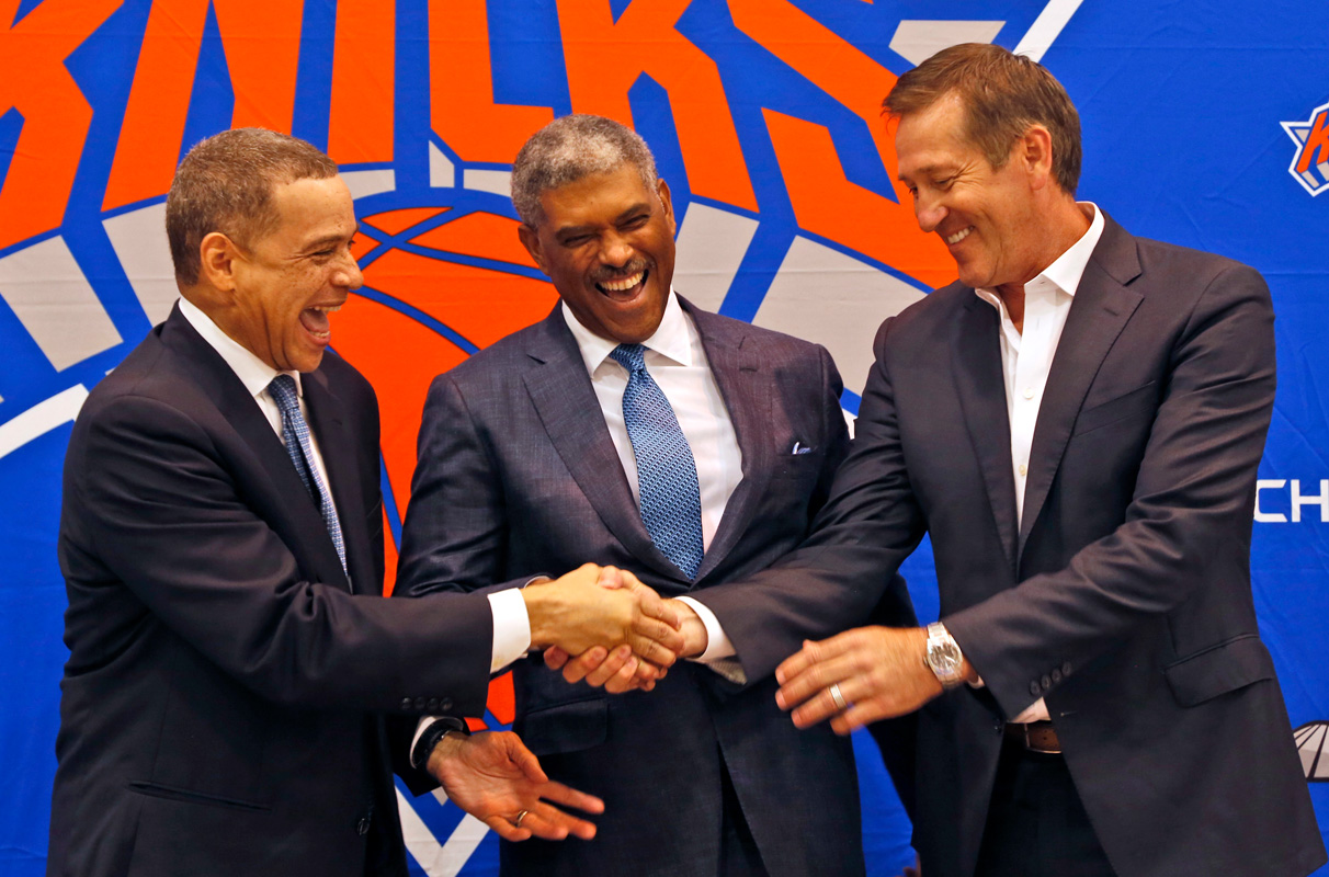 Knicks' Steve Mills, Scott Perry to work in tandem