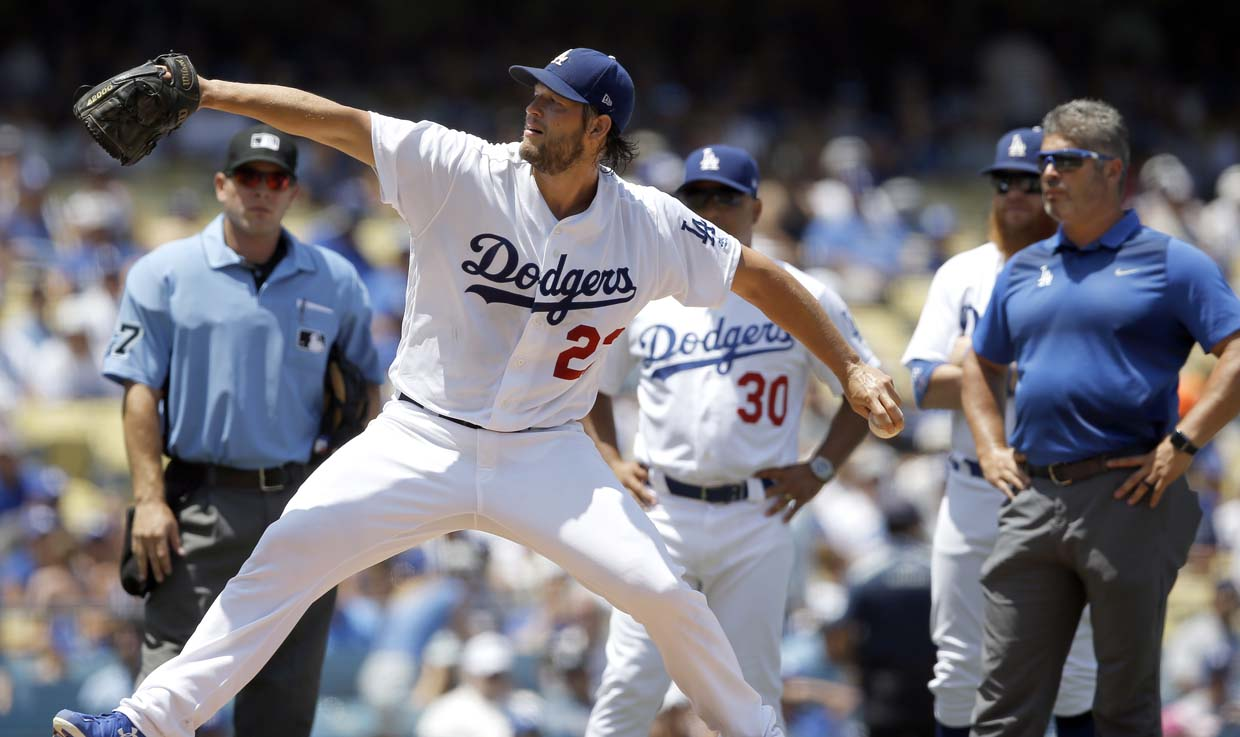 Dodgers' Kershaw may miss 4-6 weeks