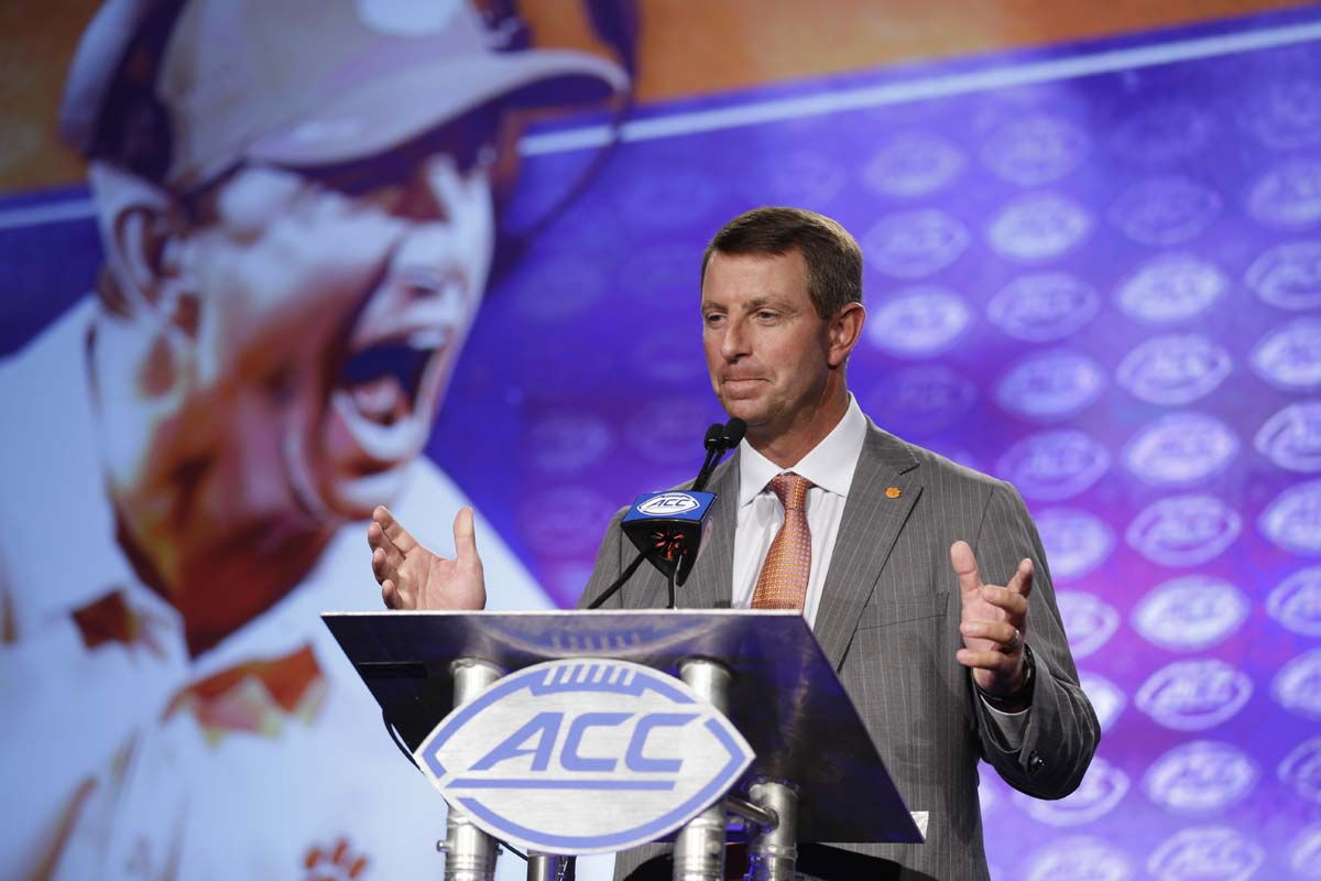 Dabo Swinney's new contract puts him among college football's highest-paid coaches