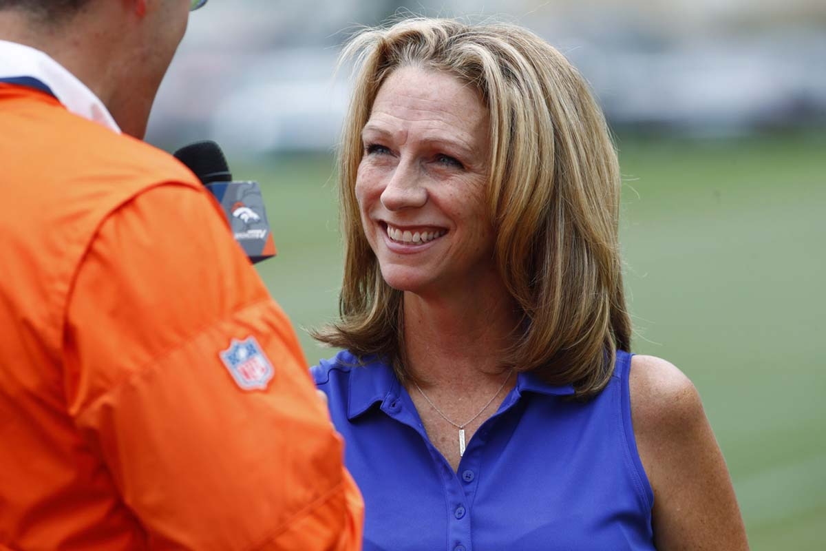 Beth Mowins debuts in National Football League play-by-play for CBS on Sept
