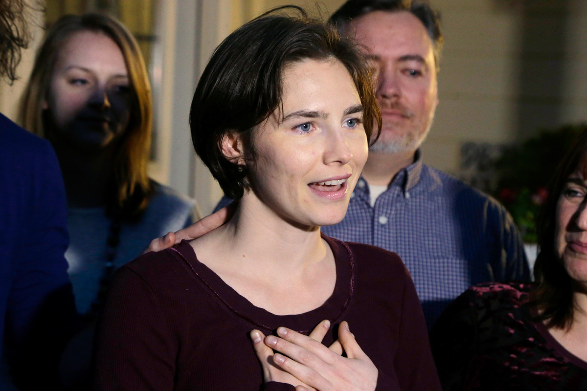 Amanda Knox Says Michelle Carter Needs Sympathy