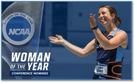 Stukenberg Named NCAA Woman of the Year Nominee