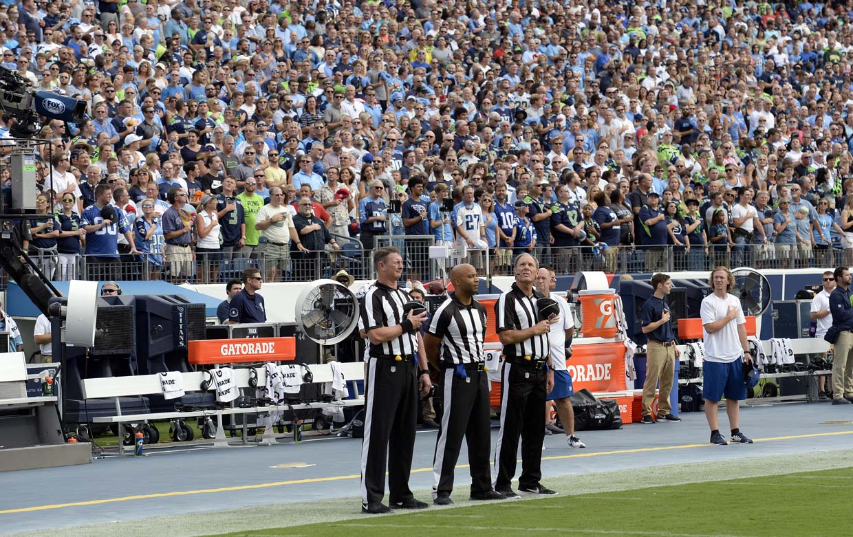 Seahawks Not Participating in National Anthem
