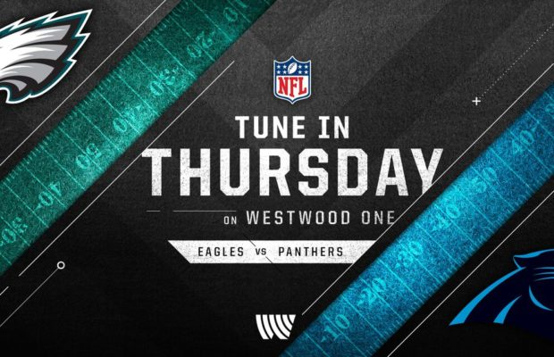 Thursday Night Football on KBAY Eagles vs. Panthers