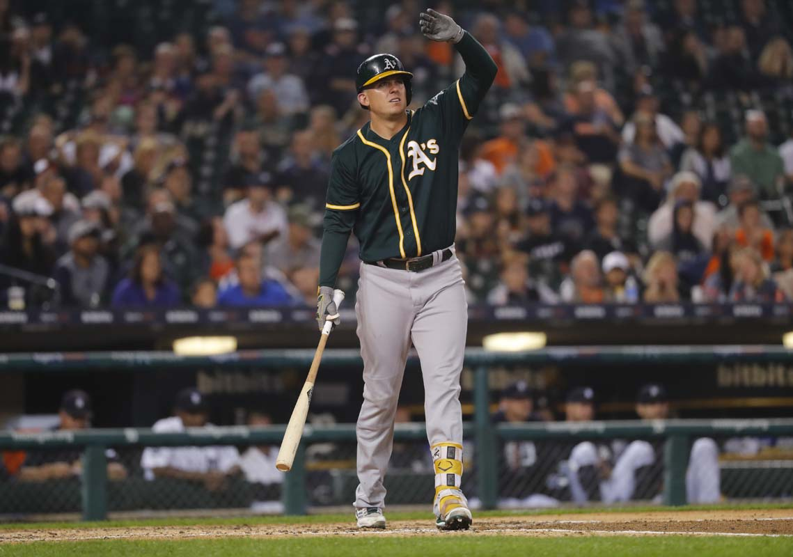 A's trade Ryon Healy for reliever Emilio Pagan and minor leaguer