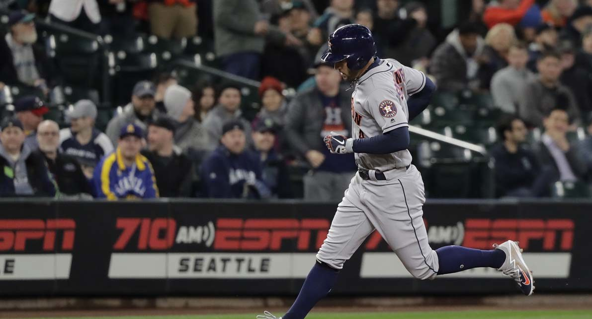 Mariners improve to 9-5 after win over Astros