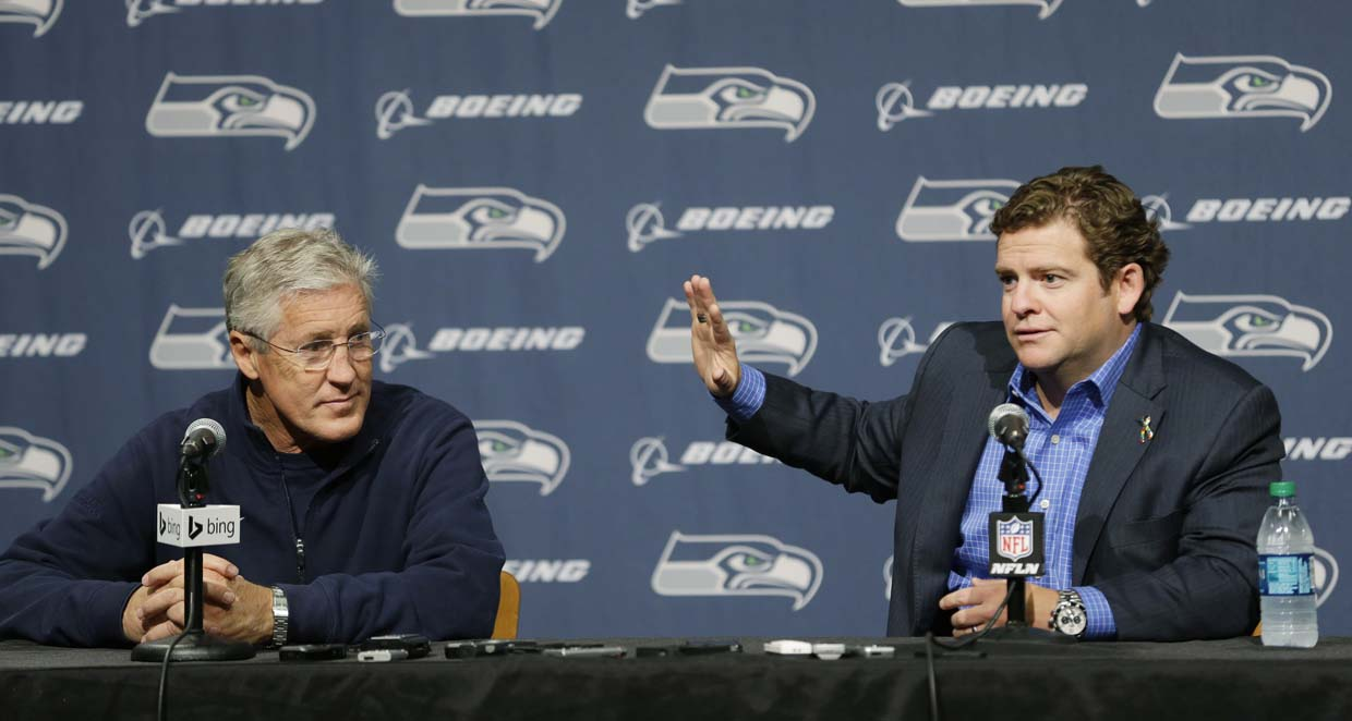 Seahawks draft predictions: A trade early, a quarterback late