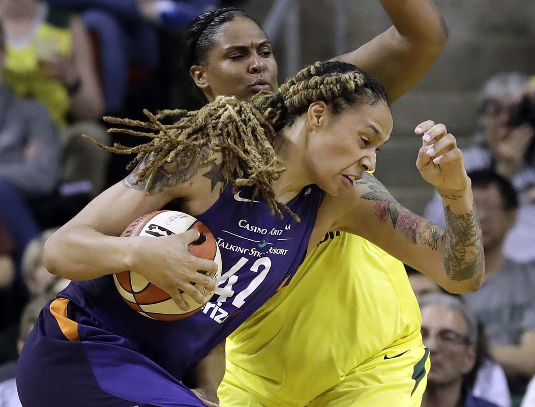 Seattle Storm to face Phoenix Mercury in WNBA semifinals