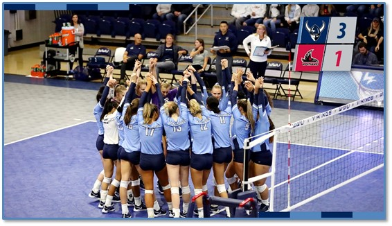 WWU volleyball stays undefeated beating NNU |1170 KPUG-AM