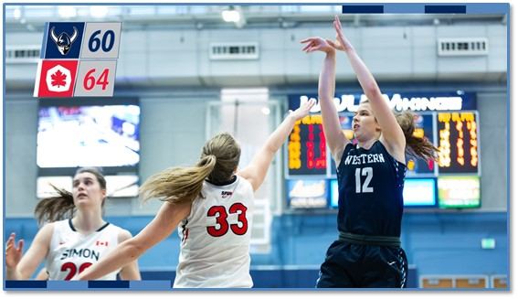 WWU men's and women's b-ball lose close ones at Simon Fraser |1170 KPUG-AM