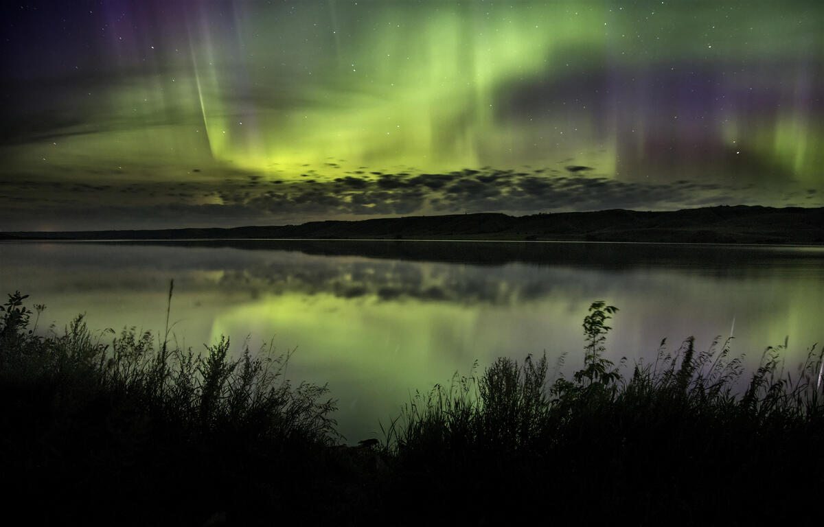 Strong solar flares mean rare northern light possible in North Carolina
