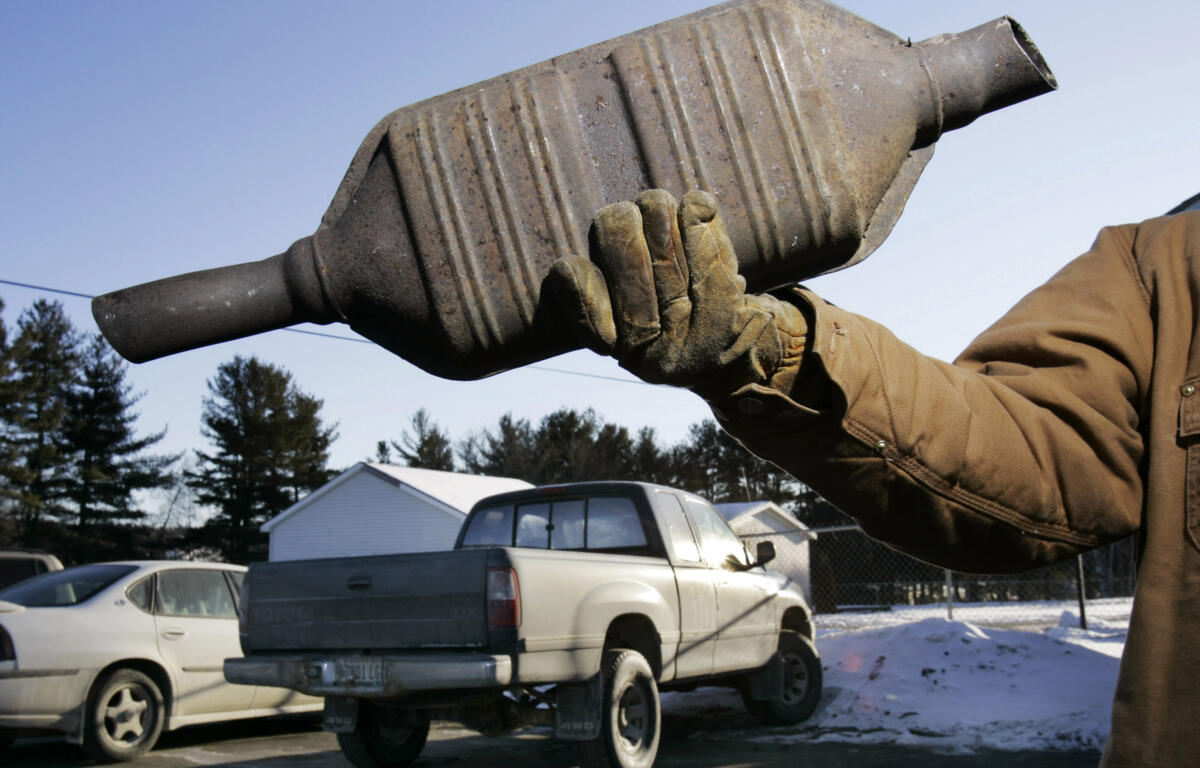 'Significant increase' in catalytic converter thefts leaving more drivers out of pocket